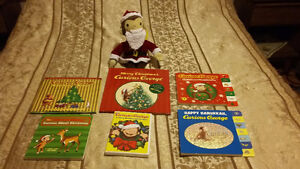 Christmas Curious George collectables