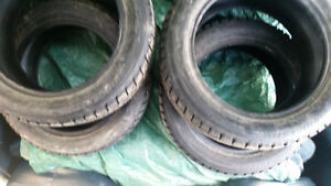 Four Sets Of Tires 2 Winters & 2 All Season Prince George British Columbia image 2