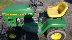 JOHN DEERE STX 38 5SPEED, WHOLE THE OTHER IS SOLD FOR PARTS TOO.