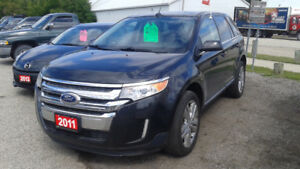 Ford Edge Limited AWD, Low Kilometers.  Financing Available!