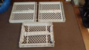 VARIOUS FENCE GATES FOR BABIES INFANTS TODDLERS (LOT OF 3)