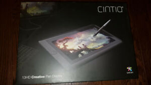 Wacom Cintiq 13HD Interactive Pen Display (DTK1301)