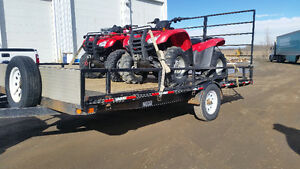 "CHECK THIS OUT!  2012 Trail Pro 102""W x 14' L - 3500 lbs axle"