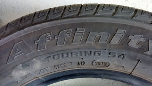 3 stock Civic Affinity Touring S4 all seasons tires, 8K only!