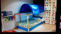 lit et matela IKEA en parfait état à vendre