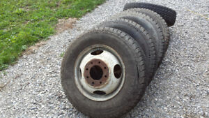 8.75 X 16.5 Dually Truck Tires and Wheels
