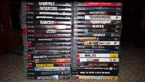Ps3 120gb with almost 40 games and others