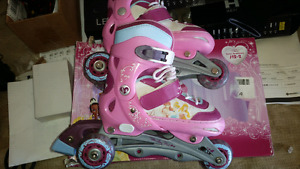 Kids roller blades size 1 to 4  size 8 mens
