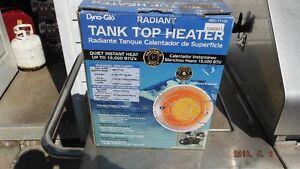 radiant tank top heater
