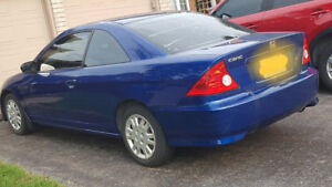 2004 Honda Civic with Low KMs - 144,800km