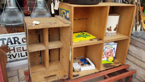 Assorted Wood Crates