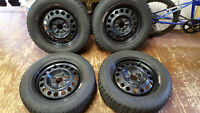 4 winter tires and rim ---good condition