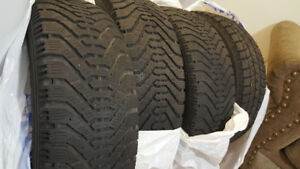 215/65R16 WINTER TIRES SALE FOR SALE...WITH GOOD TREAD...