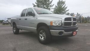 DODGE RAM 1500 *** QUAD CAB 4X4 *** CLEAN *** CERT $9995