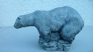 Polar Bear Carvings Large and Small $100 pair. Prince George British Columbia image 2