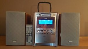 JVC Compact Component System CD / Cassette / AM /FM Kitchener / Waterloo Kitchener Area image 1