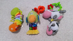 Multiple lots of infant toys