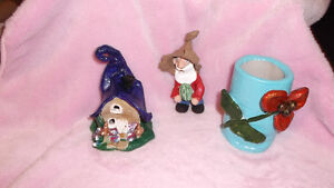 Handmade Clay Fairy House and Gnome London Ontario image 5