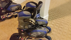 Roller Blades Size 1-4 and 3-6