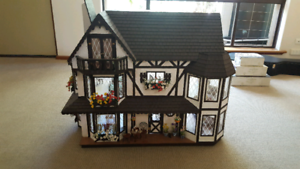 Dolls House Handcrafted Tudor Style