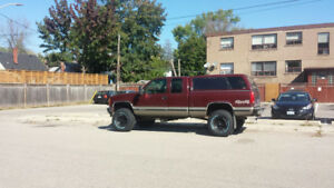 1998 GMC C/K 1500 Pickup Truck lifted