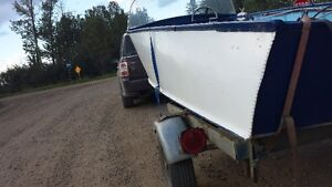 1950s Aroliner Boat + 92' Tent Trailer Strathcona County Edmonton Area image 2