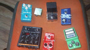 Multiple pedals