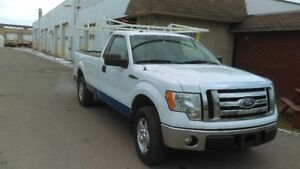 2010 FORD F150 WITH LADDER RACK ONLY 7500.00 CERTIFIED