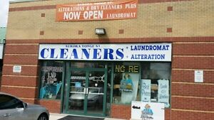 Dry Clean +Alteration+Coin Laundry Business for Sale (Aurora)