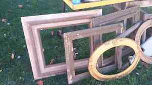 FREE Antique frames & Household odds and ends