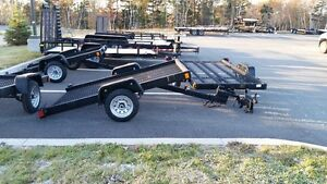 Durable utility, equipment and dump trailers