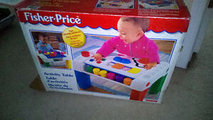 Used in box Fisher Price Activity table