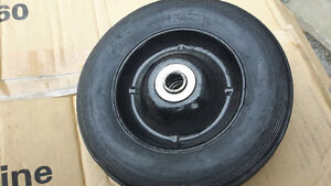 """NEW - SOLID RUBBER - 8"""" WHEEL"""