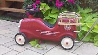 Radio Flyer Little Red Fire Engine Ride-On