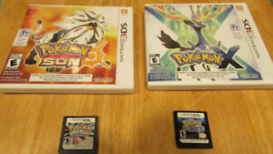 Pokemon Games DS and 3DS