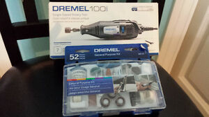Dremel 100 with great add on kit