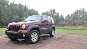 2002 Jeep Liberty Sport $1200 **OBO** *Trades welcome*