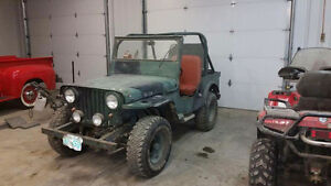 1948 willys jeep PROJECT