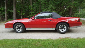 1984 Z28 2 Seater convertable