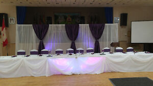 Chair Covers, Linens, & Decor for Weddings/Events Cambridge Kitchener Area image 1