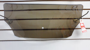 "5"" smoked spoiler shield for Memphis Shades Batwing"