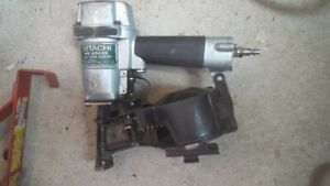 Hitachi Roofing Nailer Used good condition.