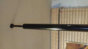 Vintage tri-light tension pole lamp.