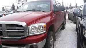 2008 Dodge Power Ram 3500 SLT 4x4 Pickup Truck Quad Cab Cummins