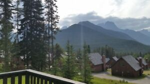 2 bdrm.Chalet near Canmore July 6, 7, & 8, 2018