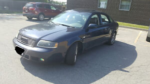 "2004 Audi A6 Sedan bi turbo 2.7l""selling as a whole or by parts"""