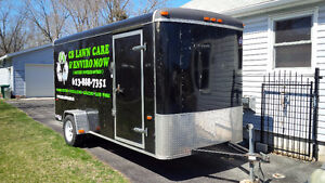 14' ENCLOSED TRAILER FOR SALE
