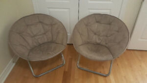 various furniture chairs and night stand