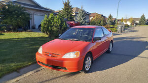"""2003 Honda Civic LX w/ AC, Winter Tires and 2x10"""" subwoofers"""