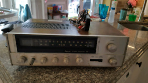 CLASSIC SANSUI 331 HIGH FIDELITY STEREO RECEIVER AMPLIFIER